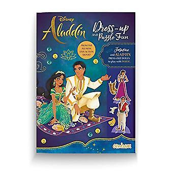 Aladdin Dress-Up Activity Book