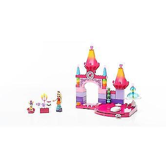 Puppets marionettes mega construx - barbie rainbow princess castle