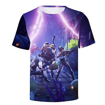 Sommer kurzarm Fortnite 3d Rundhals T-shirt Fortnite