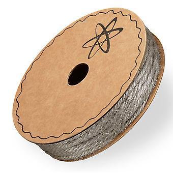 10m Grey 2mm Jute Twine String for Crafts (fr) Twine, Corde et Élastique pour l'artisanat