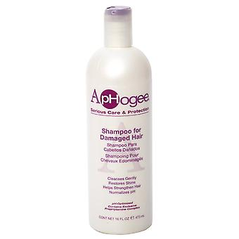 Aphogee Shampoo for Damaged Hair 473ml (3- Pack)