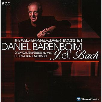 J.S. Bach - J.S. Bach: Well-Tempered Clavier - Books 1 & 2 [CD] USA import