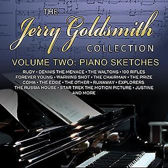 Jerry Goldsmith - Jerry Goldsmith: Collectie 2: Piano schetsen [CD] USA import