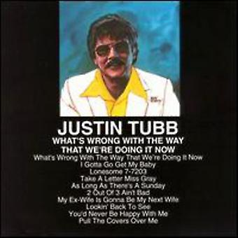 Justin Tubb - What's Wrong with the Way We'R [CD] USA import