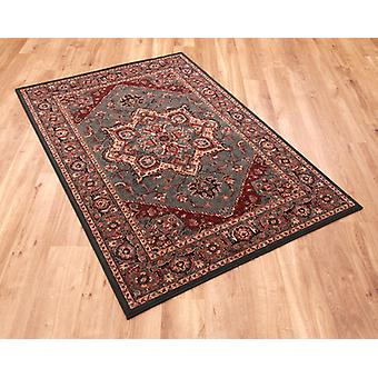 Kashqai 4354 401 Green  Rectangle Rugs Traditional Rugs