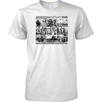 Vietnam-Krieg-B&W Foto-Collage - Kinder T Shirt
