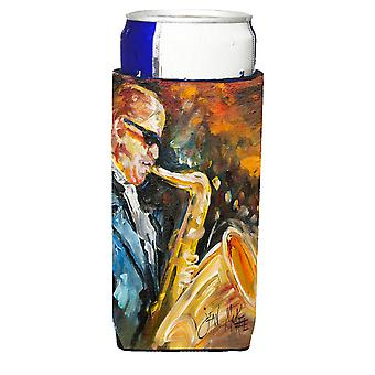 Jazz Saxophone Ultra Beverage Insulators for slim cans