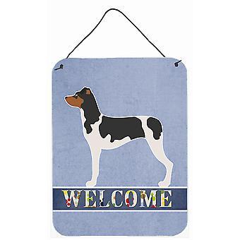 Brazilian Terrier Welcome Wall or Door Hanging Prints