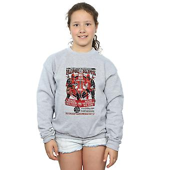Marvel Girls Deadpool Kills Deadpool Sweatshirt