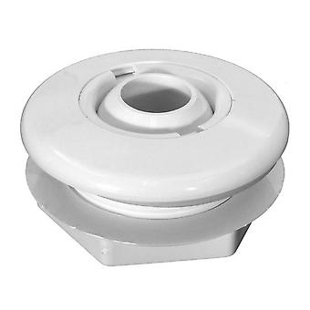 Balboa Hydro Air 10-3100WHT Standard Wall Fitting With Nut 10-3100