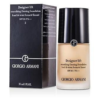 Giorgio Armani Designer Lift Smoothing kiinteyttävä säätiö Spf20-# 2-30ml/1oz