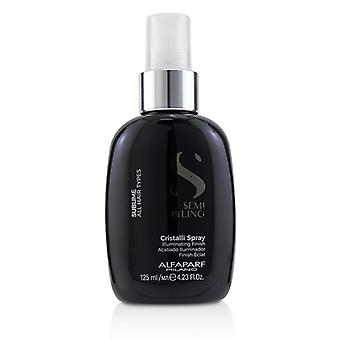 Alfaparf Semi Di Lino Sublime Cristalli Spray (all Hair Types) - 125ml/4.23oz
