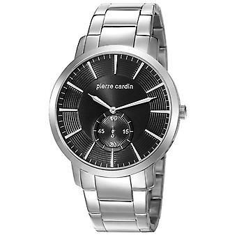 Pierre Cardin mens watch wristwatch stainless steel PC106981F07