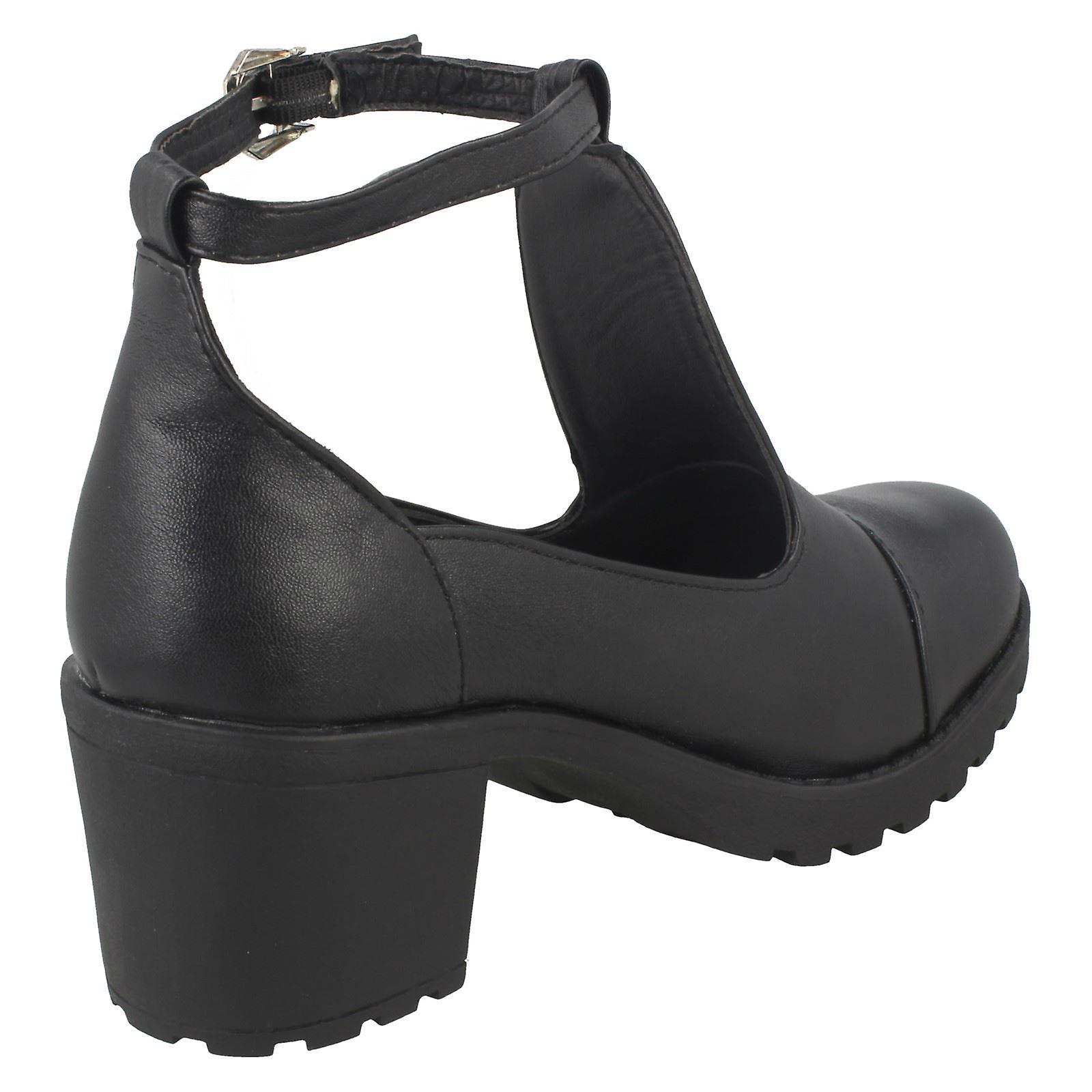 Meisjes rode Tag schoenen H3030 - Gratis verzending y7FWwT