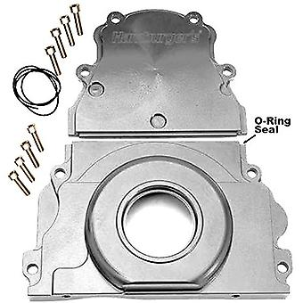 Trans-Dapt Performance 1104 Timing Chain Cover 2 pc. GM LS Engines Incl. Upper/Lower Timing Covers/Stainless Socket Head