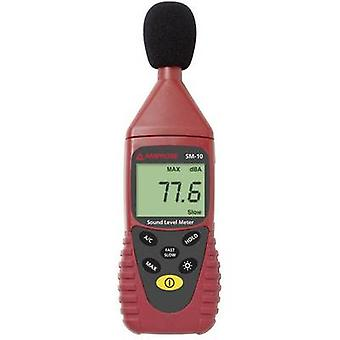 Beha Amprobe Sound level meter Data logger SM-10 30 - 130 dB 31.5 Hz - 8 kHz