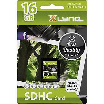 Xlyne 7316000 SDHC-kort 16 GB klass 10 UHS-Jag
