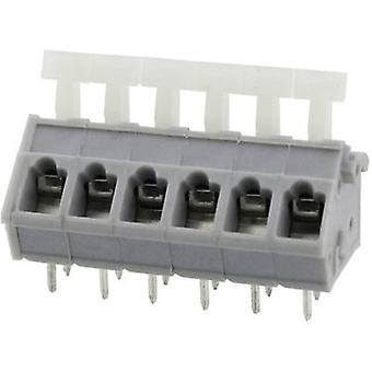 Degson DG243-5.0-02P-11-00AH-1 Veerbelaste terminal 3,31 mm² Aantal pinnen 2 Grijs 1 st(en)