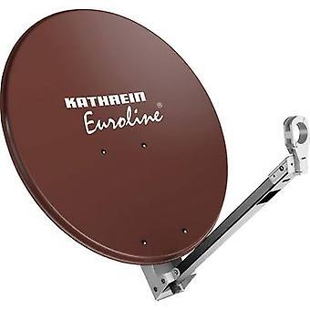 Antena SAT Kathrein KEA 650 65 cm odblaskowy materiał: Aluminium czerwono brązowy