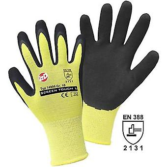 L+D Griffy SCREEN TOUCH L 14906 Nylon Protective glove Size (gloves): 10, XL EN 388 CAT II 1 Pair