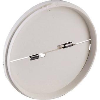 Wallair N40818 Backflow klep geschikt voor buisdiameter: 12,5 cm Wit
