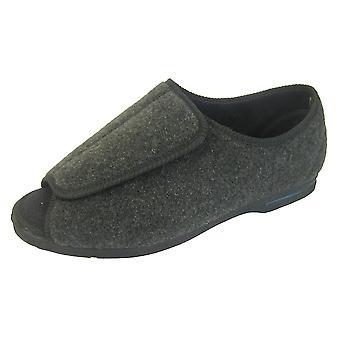 Koelers Mens CosyComfort verstelbare klep orthopedische Slippers
