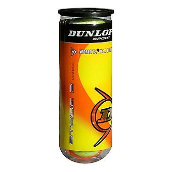 Dunlop Stage 2 3-Ball Can Orange (50% pression réduite)