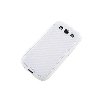 Technocel Hybrigel Case Cover for Samsung Galaxy S III  (White) - SAL710HGW-Z