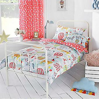 Riva Home Vintage Circus Duvet Cover Set