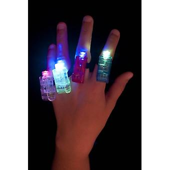Smiffy's Multi Colour Multi Flashing Finger Lights