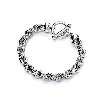 Cavendish French Classic Sterling Silver Rope Bracelet