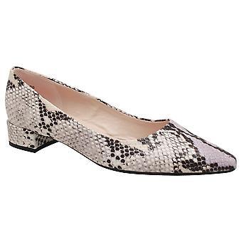 بيتر كايزر كتلة منخفضة الكعب الجلد المحكمة تصميم أحذية