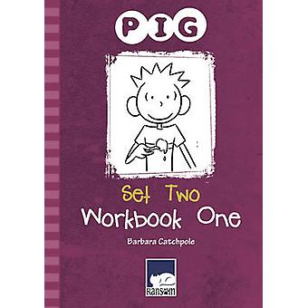 PIG Set 2 Workbook 1 by Barbara Catchpole - 9781781276228 Book