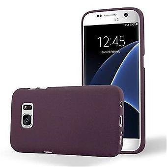 Cadorabo Case for Samsung Galaxy S7 Case Cover - Flexible TPU Silicone Case Case Ultra Slim Soft Back Cover Case Bumper