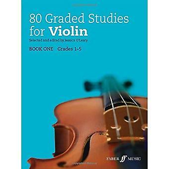 80 Graded Studies for Violin: Book 1