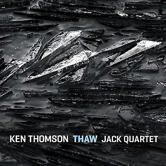 Thomson/Jack Quartet - Ken Thomson: Thaw [CD] USA import
