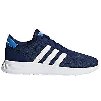 Adidas Lite Racer dzieci chłopców koronki Up sportowe trener obuwia granatowy