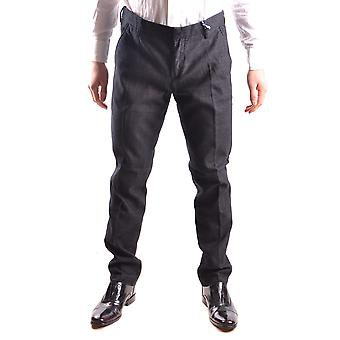 At.p.co Ezbc043040 Men's Black Cotton Pants