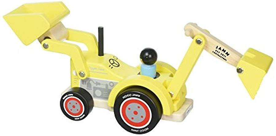Indigo Jamm Digger Dave Wooden Toy With Removable Driver