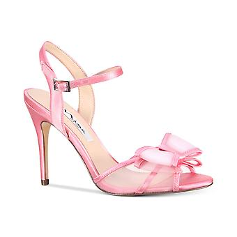 Nina Womens Charm Open Toe Formal Ankle Strap Sandals