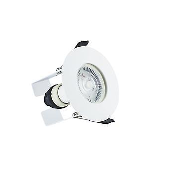 Integral-LED IP65 tűz névleges downlight távolsági szigetelés Guard/GU10 Holder matt fehér IP65-ILDLFR70D003