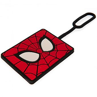 Marvel Spider-Man bagasjen tag