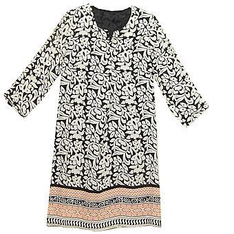 POMODORO Dress 71809 Black And White