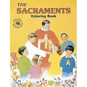 Coloring Book about the Sacraments Book