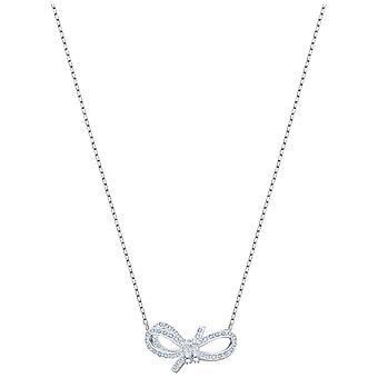 Lebenslange Bogen Halskette Swarovski