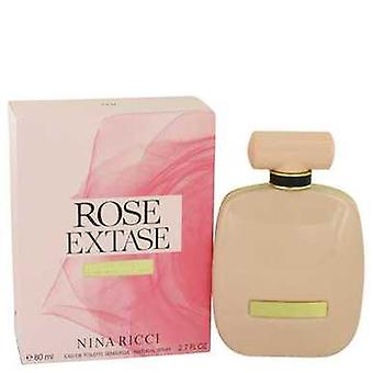 Rose Extase By Nina Ricci Eau De Toilette Sensuelle Spray 2.7 Oz (women) V728-538721