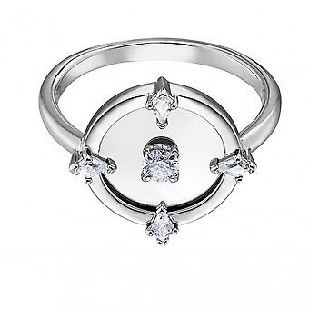 Swarovski Ring 5515033 - North M tal Rhodi Collection Floating Central Disc at Women's Centre