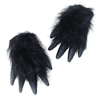 Bristol Novelty Unisex Adults Gorilla Hands (1 Pair)