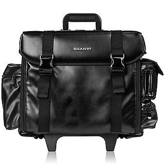 SHANY ماكياج الفنان لينة المتداول عربة حالة مستحضرات التجميل مع مجموعة مجانية من حقيبة شبكة