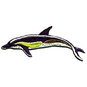 Patch - Animals - Dolphin Iron On Gifts New Licensed p-0242